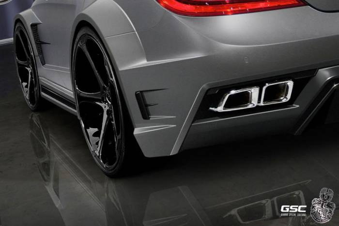 Mercedes-Benz CLS 63 AMG Stealth от тюнеров из GSC (6 фото)