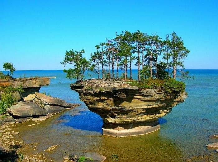 Остров Turnip Rock (7 фото)