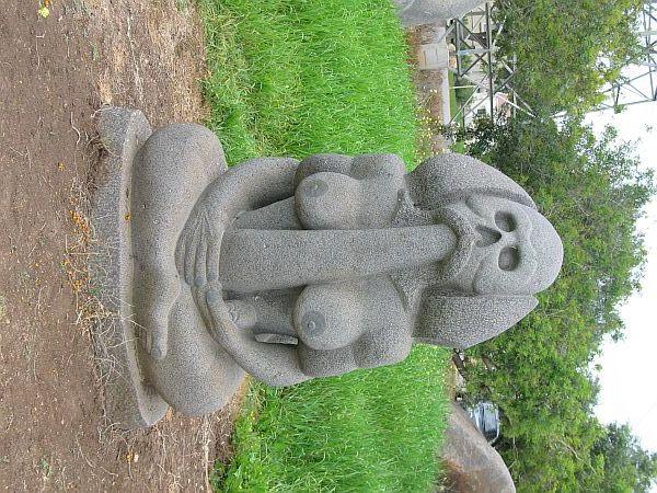 Самая большая скульптура вагины