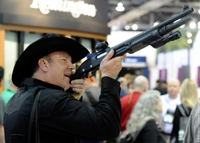 Выставка Shooting, Hunting and Outdoor Trade Show (14 фото)