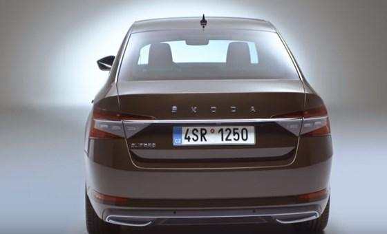 2020 Skoda Superb Facelift (видео)